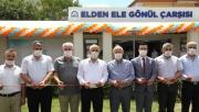 Gebze'de Elden Ele Gönül Çarşısı dualarla açıldı