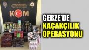 Gebze'de 643 kilogram kaçak tütün ile 23 bin 400 makaron ele geçirildi