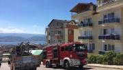 Kocaeli'de yangında mahsur kalan 6 kişi itfaiye ekiplerince kurtarıldı