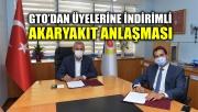 Gebze Ticaret Odası'ndan üyelerine indirimli akaryakıt anlaşması