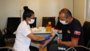 Büyükşehir personeli sağlık taramasından geçiyor