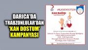 Darıca'da Trabzonlular'dan 'Kan Dostum' kampanyası