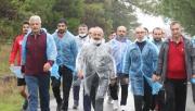 Sağlıklı yaşam yürüyüşleri sürüyor