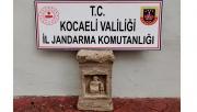 Kocaeli'de Roma dönemine ait tarihi eseri satmak isteyen kişi tutuklandı