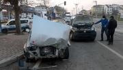 Gebze'deki trafik kazasında 2 kişi yaralandı