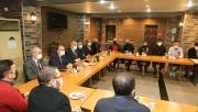 Başkan Bıyık, esnafa çalışmaları anlattı