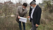 Başkan Şayir projeyi yerinde inceledi