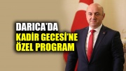 Darıca'da Kadir Gecesi'ne özel program