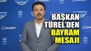 Başkan Türel'den bayram mesajı