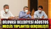 Dilovası Belediyesi Ağustos meclis toplantısı gerçekleşti