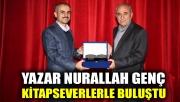 Yazar Nurallah Genç kitapseverlerle buluştu