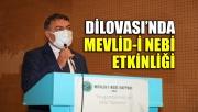 Dilovası'nda Mevlid-i Nebi etkinliği