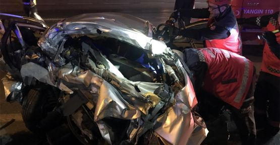Zincirleme trafik kazası: 3 ölü, 7 yaralı