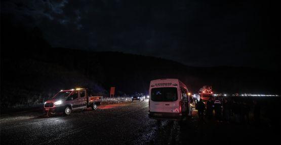 Zincirleme trafik kazasında 1 ölü, 20 yaralı